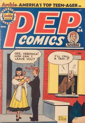 Pep Comics #84. Click for current values.