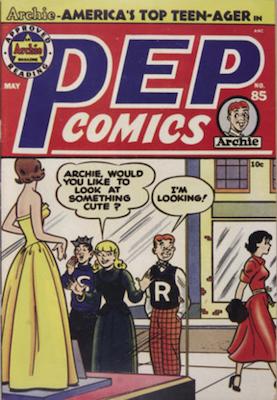 Pep Comics #85. Click for current values.