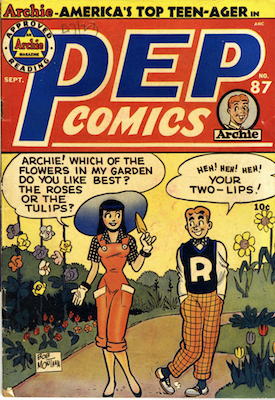 Pep Comics #87. Click for current values.