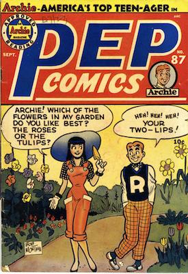 Pep Comics #87. Click for current values.