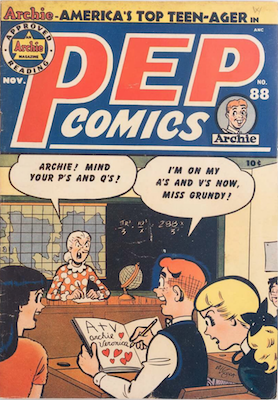 Pep Comics #88. Click for current values.