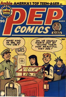 Pep Comics #90. Click for current values.