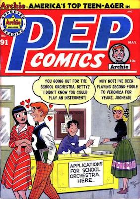 Pep Comics #91. Click for current values.