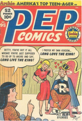 Pep Comics #95. Click for current values.