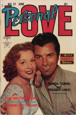 Personal Love #27: Frank Frazetta romance art. Click for values