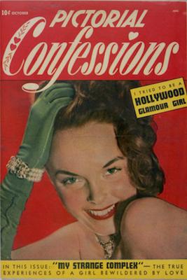 Pictorial Confessions #2. Matt Baker cover. Click for values