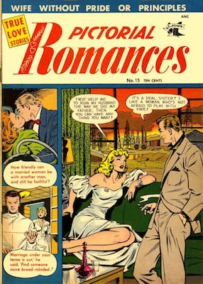 Pictorial Romances #15. Click for values