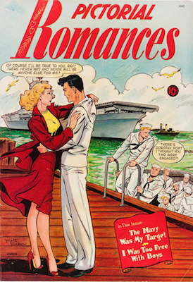 Pictorial Romances #6: rare Matt Baker comic book. Click for values