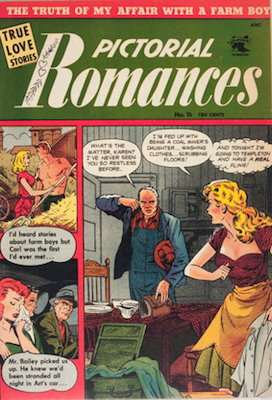 Pictorial Romances #16. Click for values