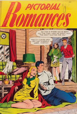Pictorial Romances #5. Click for values