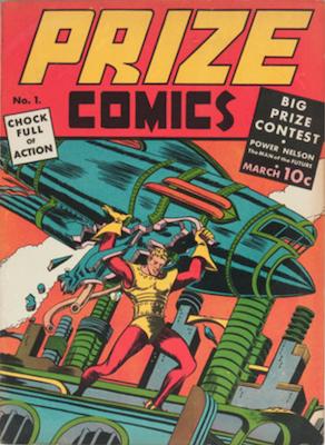 Prize Comics #1. Click for current values.