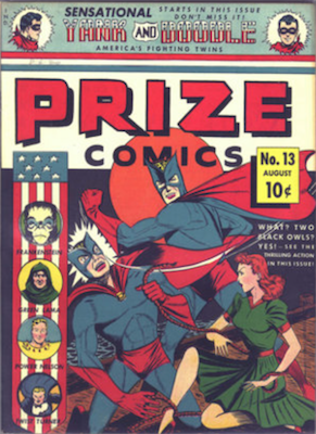 Prize Comics #13. Click for current values.