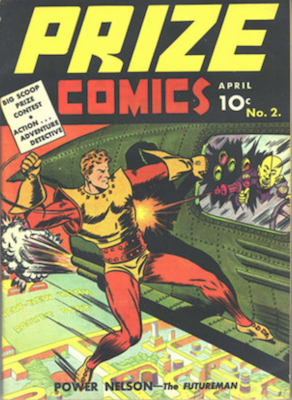 Prize Comics #2. Click for current values.