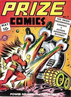 Prize Comics #3. Click for current values.