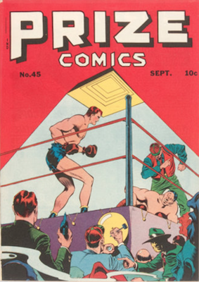 Prize Comics #45. Click for current values.