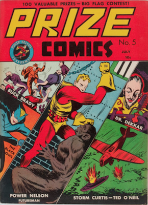 Prize Comics #5. Click for current values.