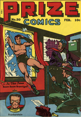 Prize Comics #50. Click for current values.