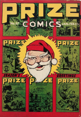 Prize Comics #57. Click for current values.