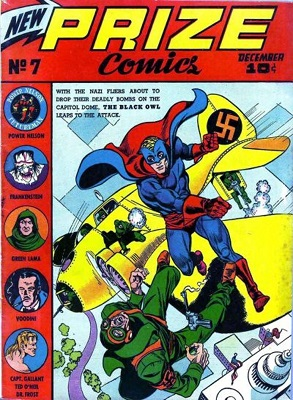 Prize Comics #7: Origin and first appearance of The Green Lama. Click for values