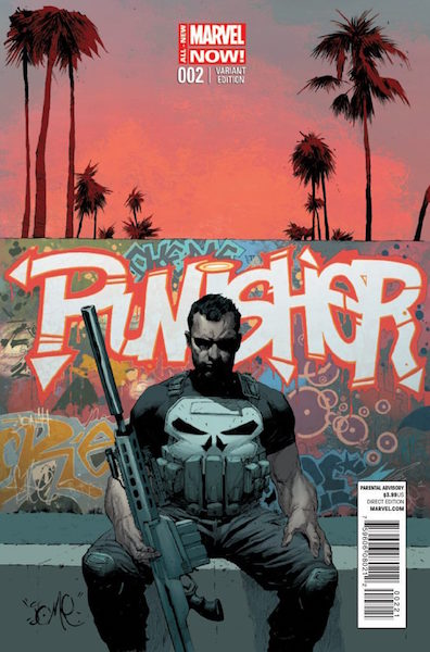 Punisher 2 Opena Variant (2014). Click for values