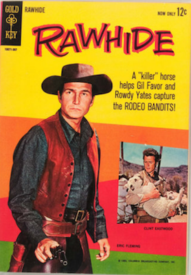 Rawhide #1 (1962), Gold Key. Click for values