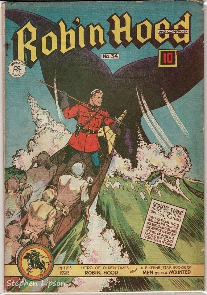 Robin Hood Comics issue #34