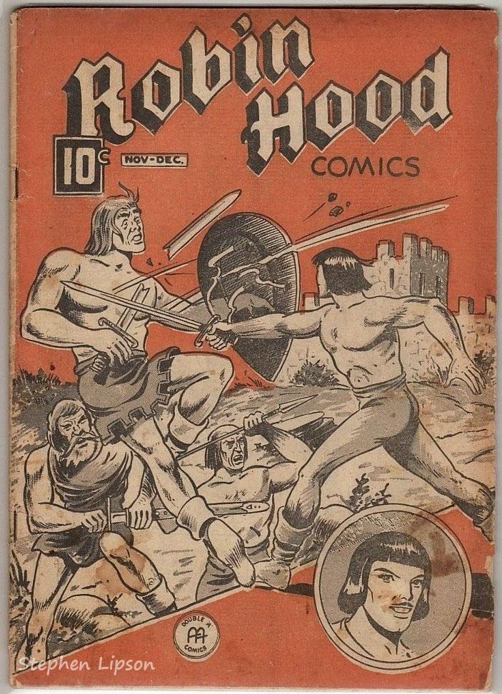 Robin Hood Comics v2 #11