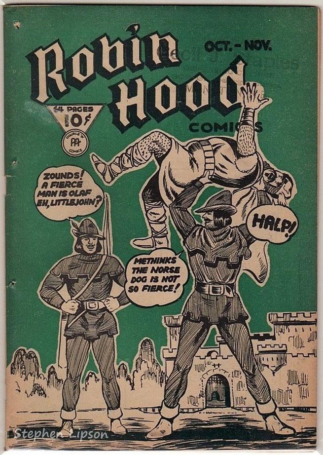Robin Hood Comics v1 #11