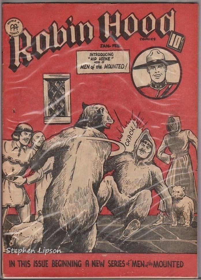 Robin Hood Comics v2 #12