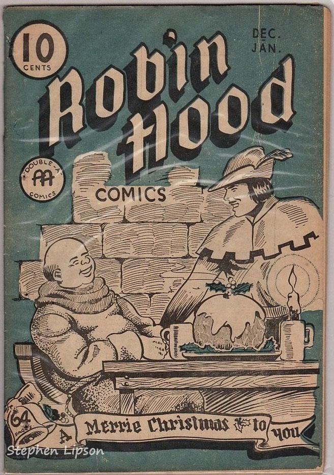 Robin Hood Comics v1 #6