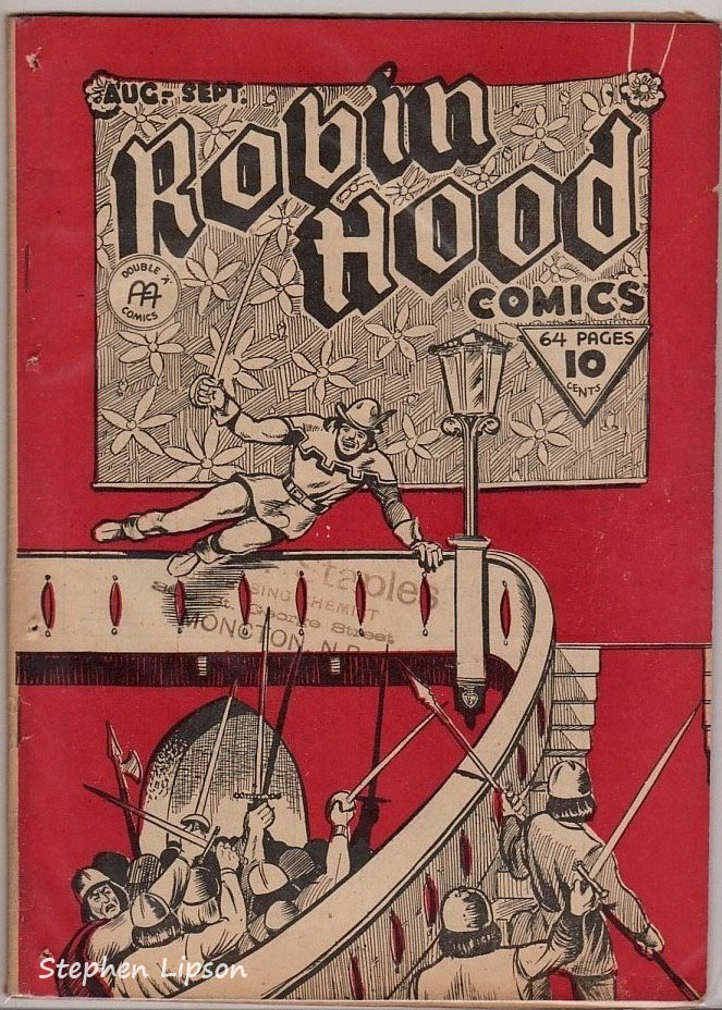 Robin Hood Comics v1 #10