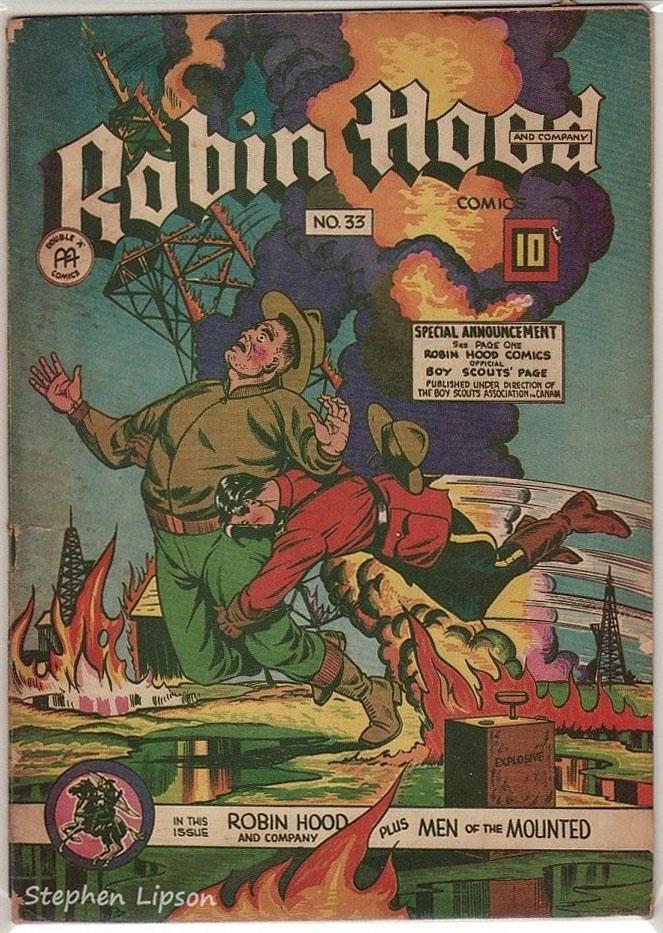 Robin Hood Comics issue #33