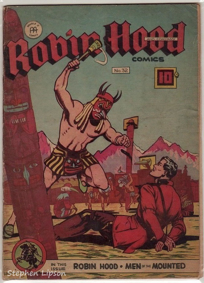Robin Hood Comics issue #32