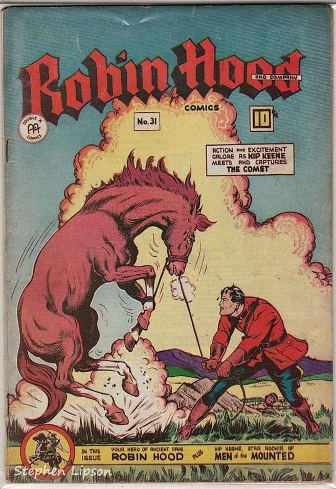 Robin Hood Comics issue #31