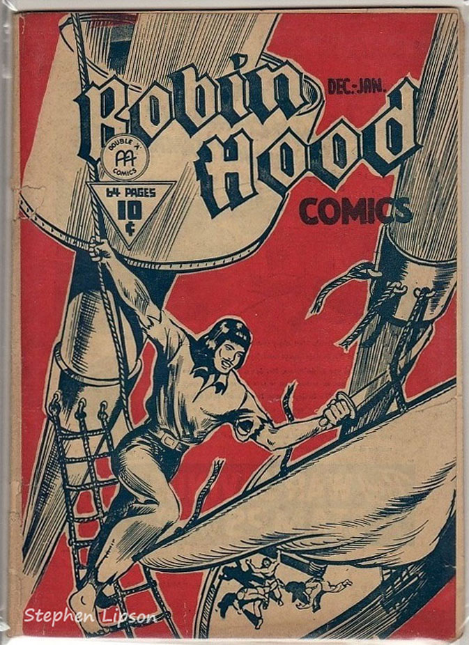 Robin Hood Comics v1 #12