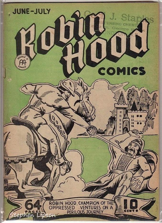 Robin Hood Comics v1 #9