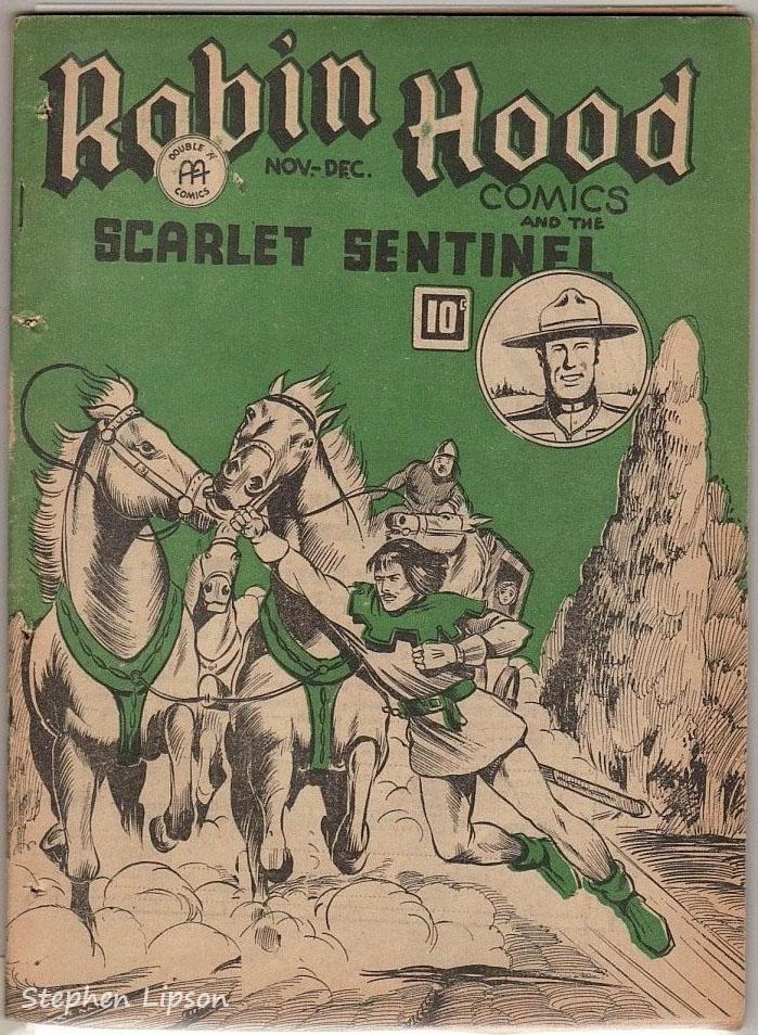 Robin Hood Comics v2 #5