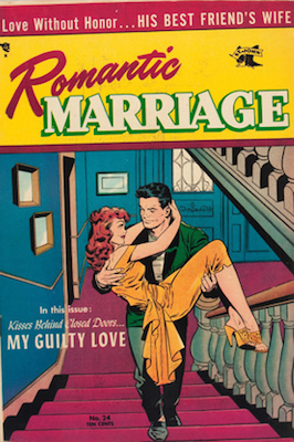 Romantic Marriage #24: classic Baker cover. Click for values