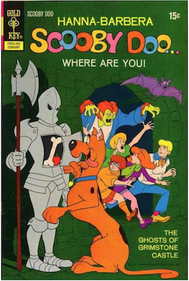 Scooby Doo #10 (1970). Click for values.