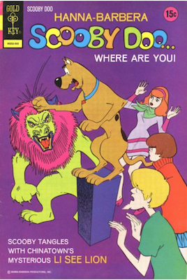 Scooby Doo #16 (1970). Click for values.