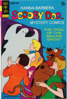 Scooby Doo #17 (1970). Click for values.