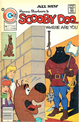 Scooby Doo #4 (1975). Click for values.