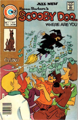Scooby Doo #5 (1975). Click for values.