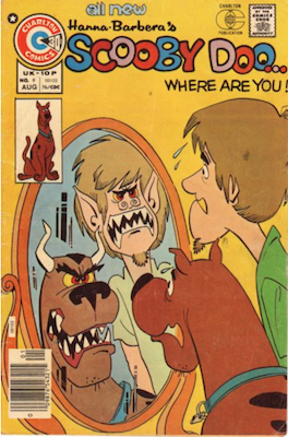 Scooby Doo #9 (1975). Click for values.