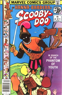 Scooby Doo #8 (1977). Click for values.