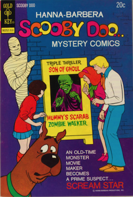 Scooby Doo #21 (1970). Click for values.