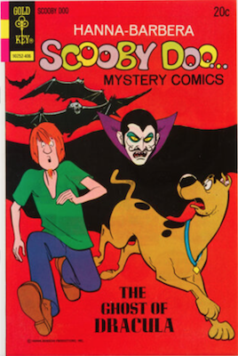 Scooby Doo #25 (1970). Click for values.