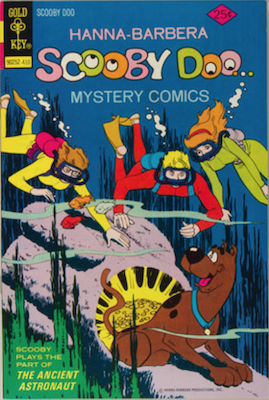 Scooby Doo #28 (1970). Click for values.