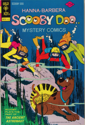 Scooby Doo #29 (1970). Click for values.