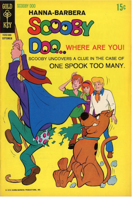 Scooby Doo #3 (1970). Click for values.
